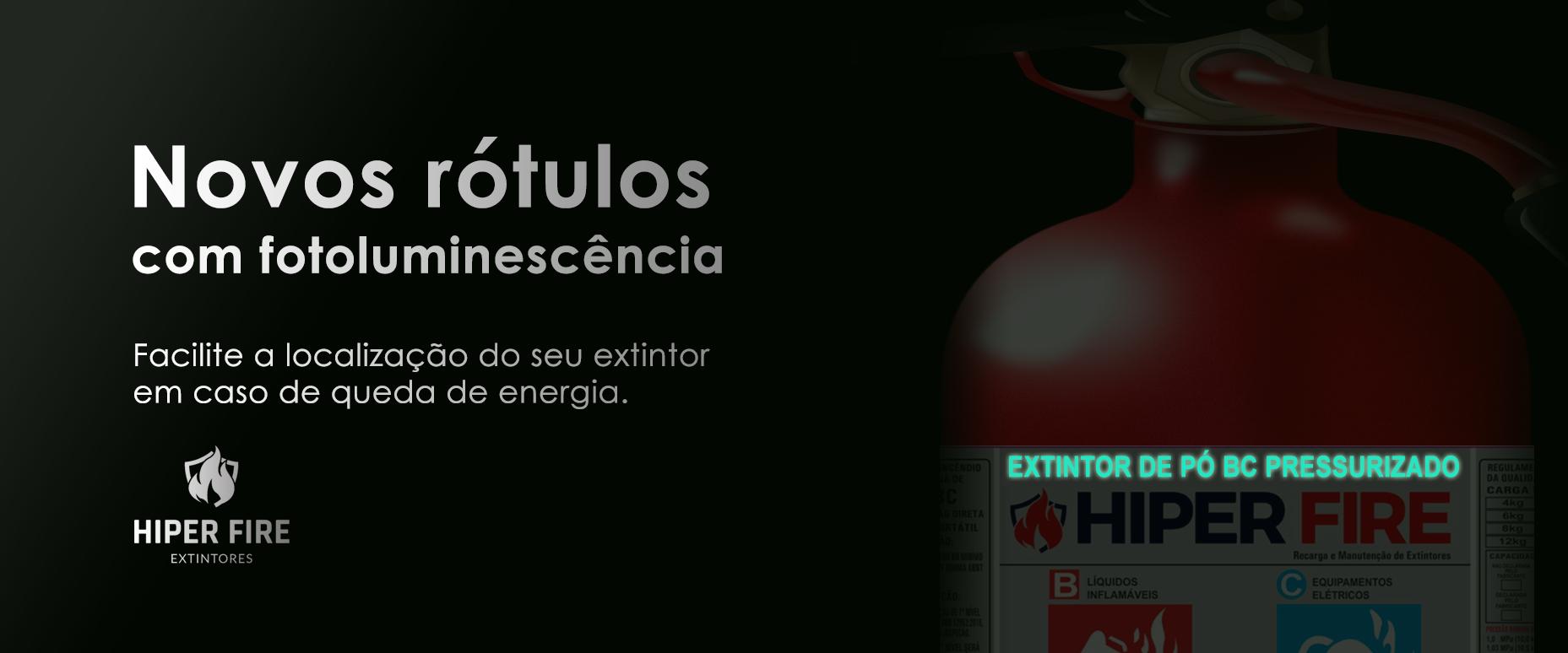 Hiper Fire Extintores - Extintores de Incêndio SP